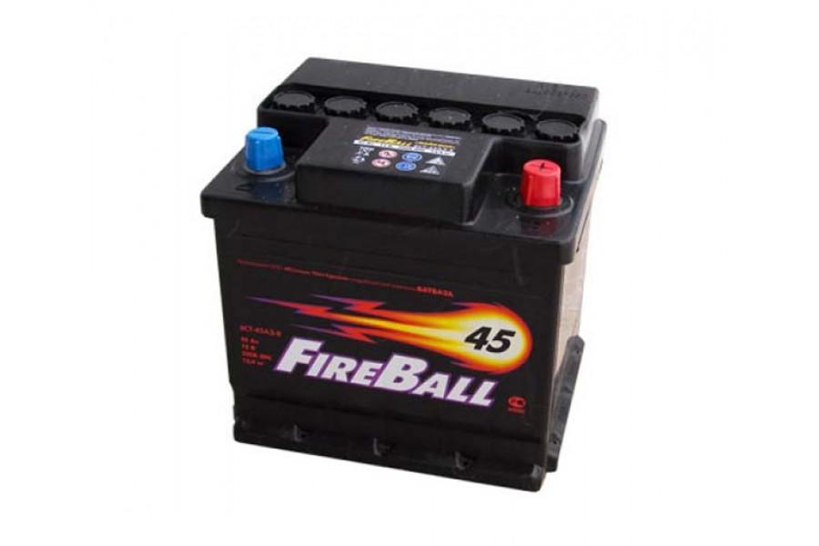 Аккумулятор FireBall 6СТ-45  A/h R 430A (EN)