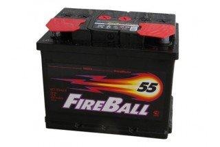 Аккумулятор FireBall 6СТ-55  A/h R 430A (EN)