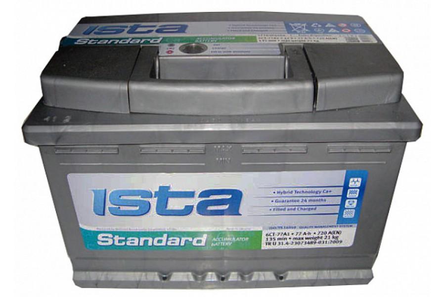 Аккумулятор ISTA Standard (77  A/h), 720А