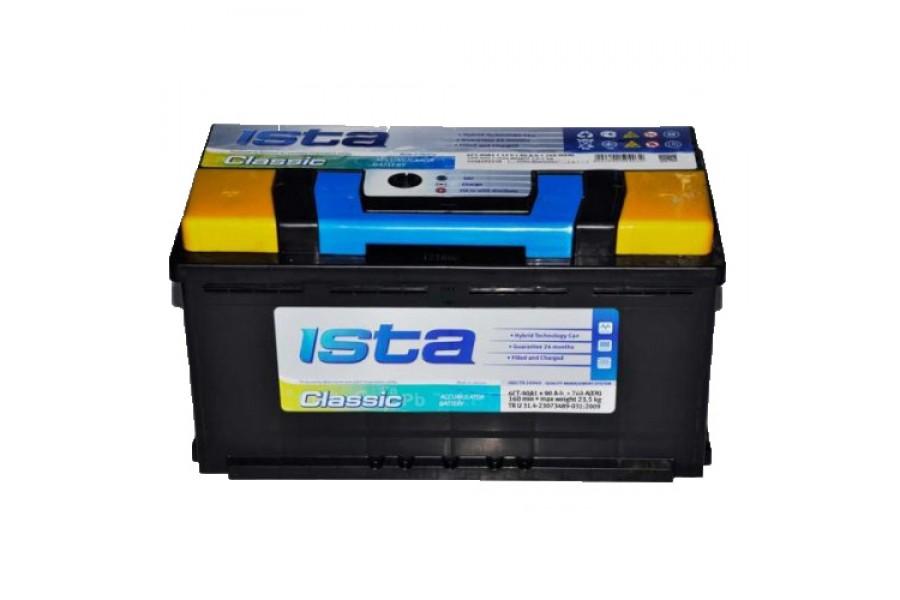 Аккумулятор ISTA CLASSIC (90  A/h), 760А