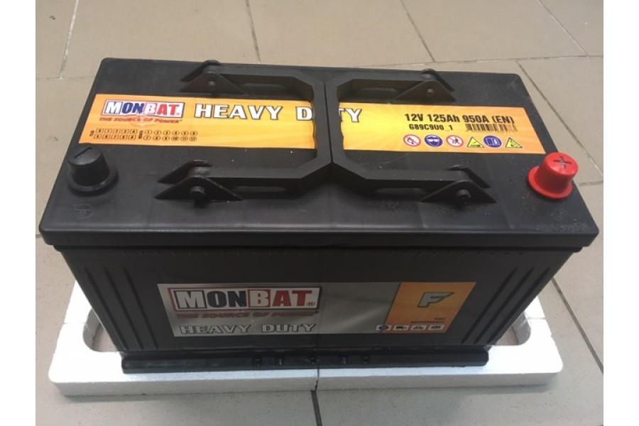 Аккумулятор MonBat 125 Ah 950A