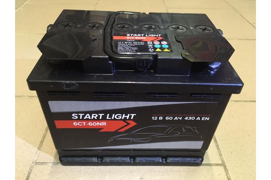 Аккумулятор Start Light 60 a/h 430А