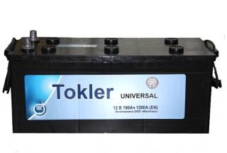Аккумулятор TOKLER 190  A/h 1200A (EN)