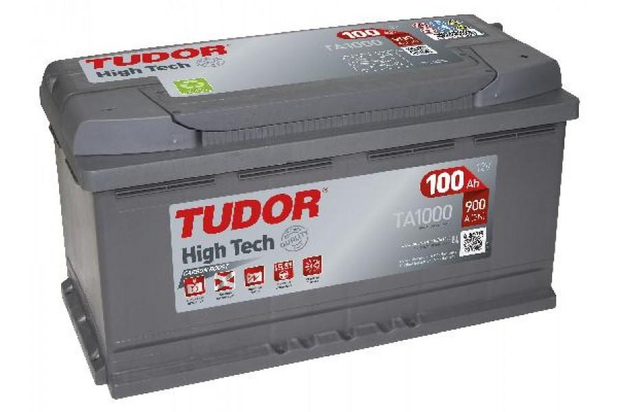 Аккумулятор Tudor High Tech TA1000 100  A/h 900A