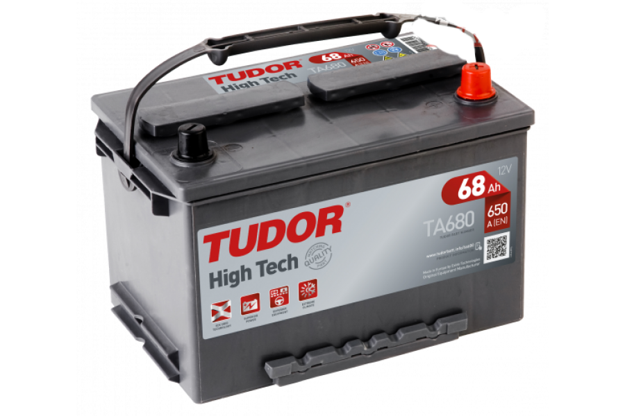 Аккумулятор Tudor High Tech TA680 68  A/h 650A