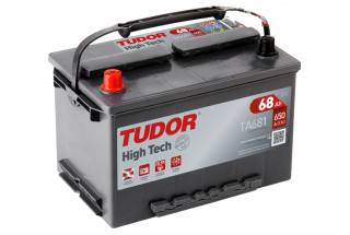 Аккумулятор Tudor High Tech TA681 68  A/h 650A L+