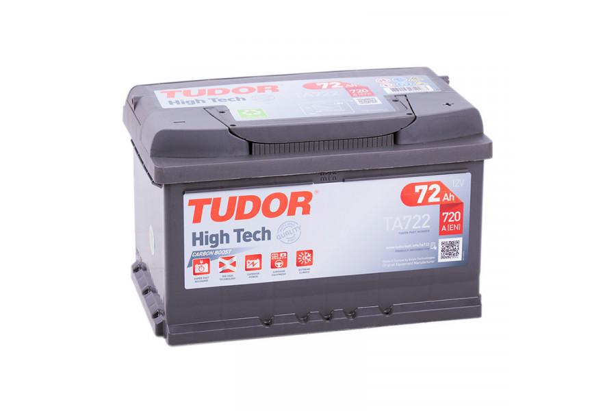 Аккумулятор Tudor High Tech TA722 72  A/h 720A