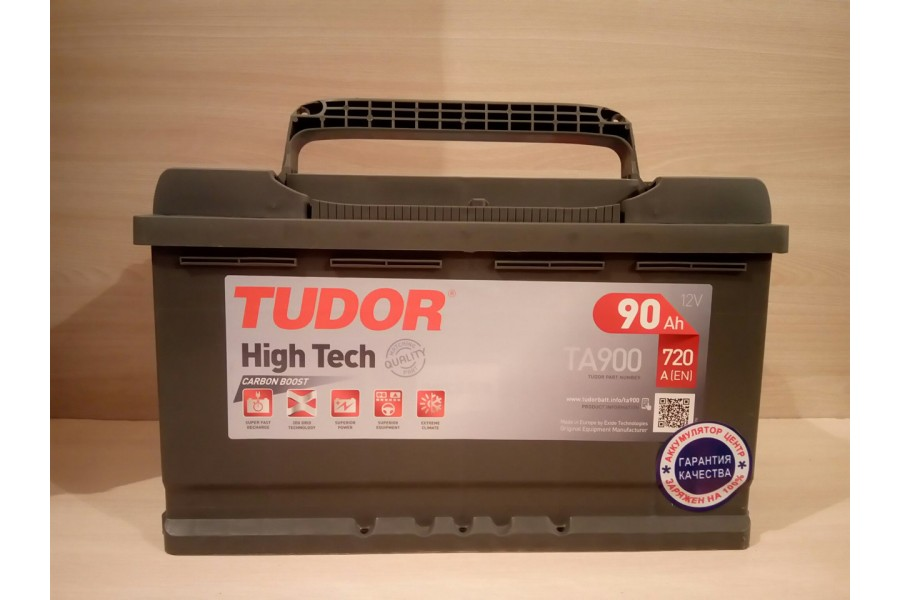 Аккумулятор Tudor High Tech TA900 90  A/h 720A