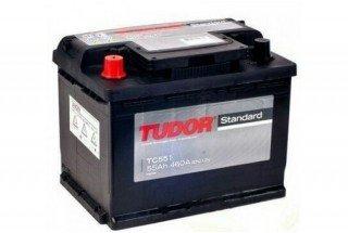 Аккумулятор Tudor Starter TC551A 55  A/h 460A L+