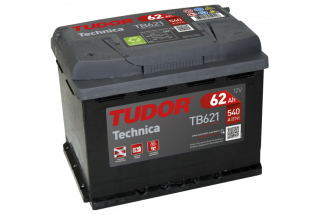 Аккумулятор Tudor Technica TB620 62  A/h 540A