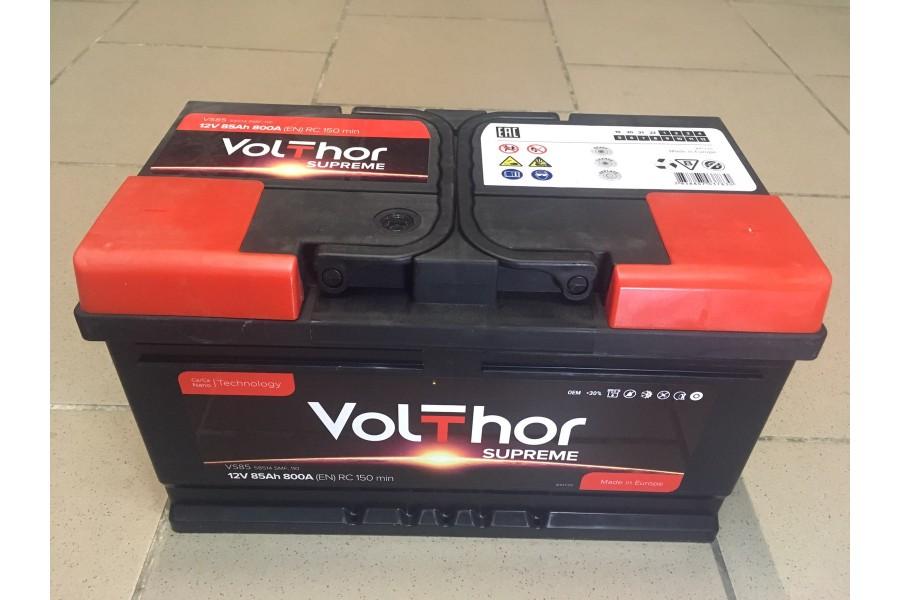 Аккумулятор VoltThor 85  A/h R+ 800A (EN)