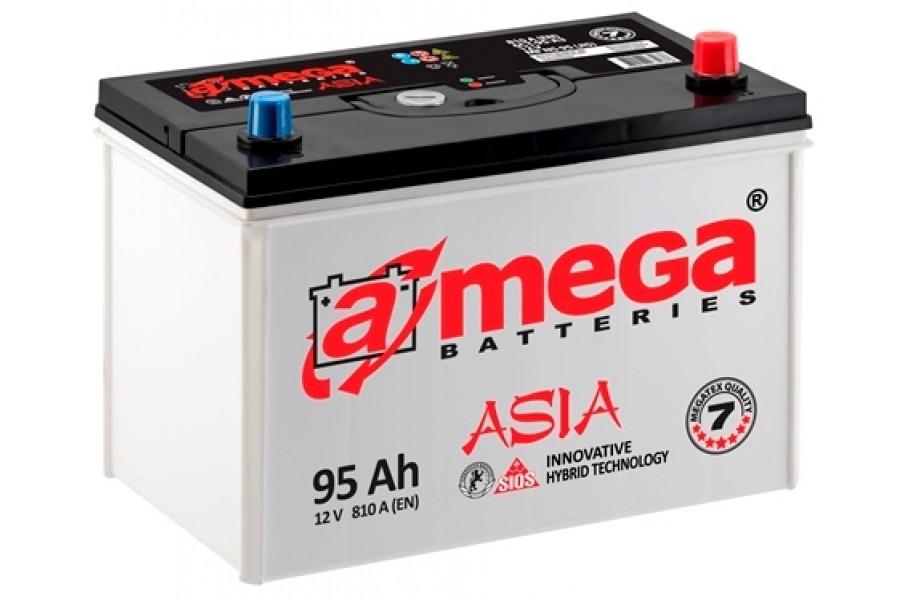 Аккумулятор A-mega Asia Ultra 95 JR (new)