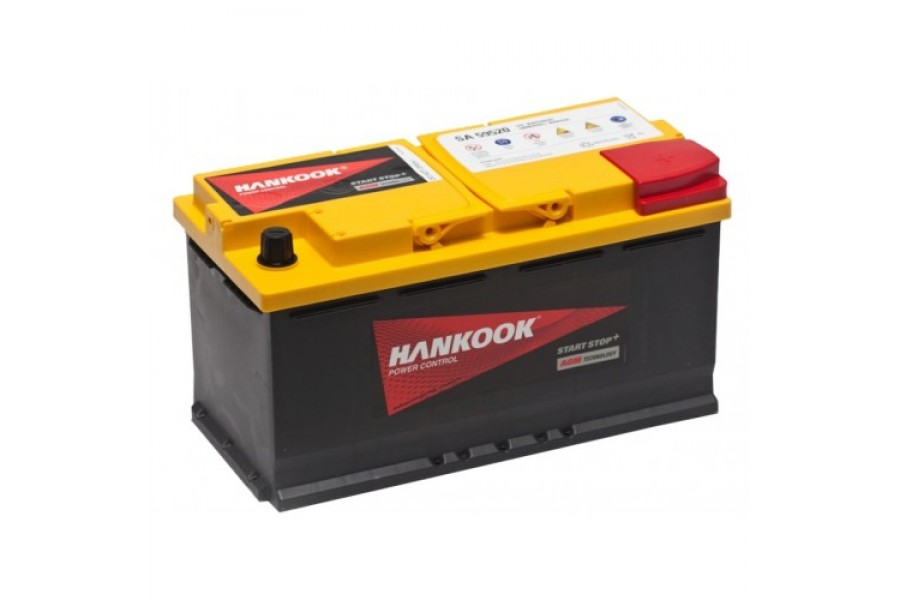 Аккумулятор HANKOOK AGM 95  A/h R 850A (EN)