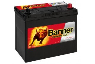 Аккумулятор BANNER Power Bull 45 JR 390A e/n R+