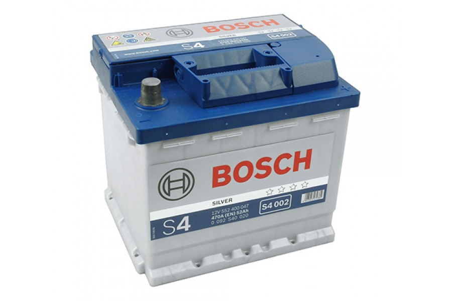 Аккумулятор Bosch S4 552 400з 470A