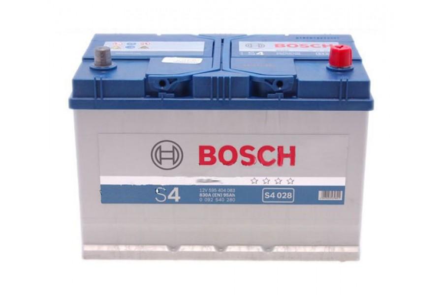 Аккумулятор Bosch S4 595 404з 830A R+ евр
