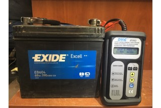 Аккумулятор Exide Excell EB604 60  A/h 390A