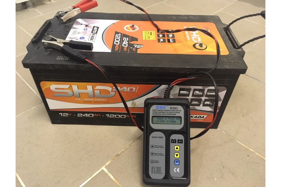 Аккумулятор SHD 225  A/h