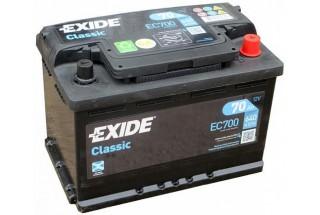 Аккумулятор Exide Classic EC700 (70  A/h), 640A R+