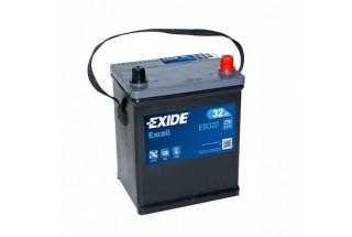 Аккумулятор Exide Excell EB320 JIS (32  A/h), 270A
