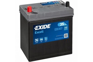 Аккумулятор Exide Excell EB357 (35 A/h), 240A L+