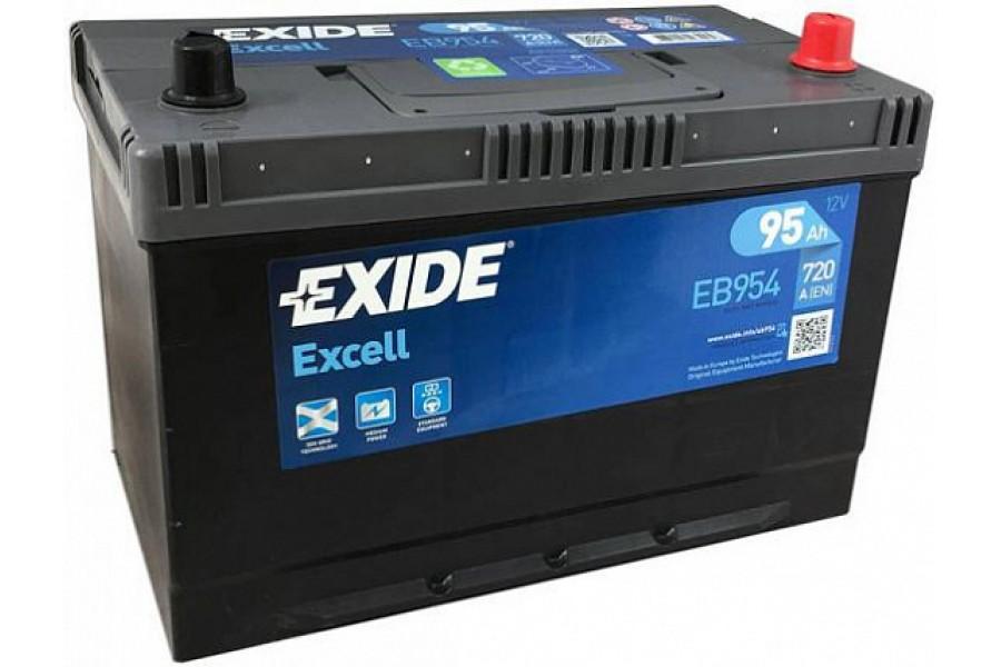 Аккумулятор Exide Excell EB954 JIS (95  A/h), 720A R+