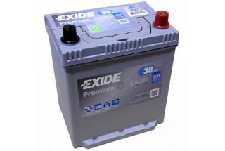 Аккумулятор Exide Premium EA386 (38  A/h), 300A R+