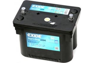 Аккумулятор Exide Start-Stop AGM EK508 (50 A/h) 800A