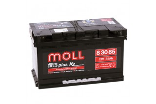 Аккумулятор Moll M3 Plus 85   A/h made in GERMANY ОТ 1-го ПОСТАВЩИКА