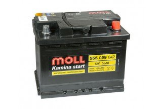 Аккумулятор Moll 55   A/h R 420A (EN) ОТ 1-го ПОСТАВЩИКА