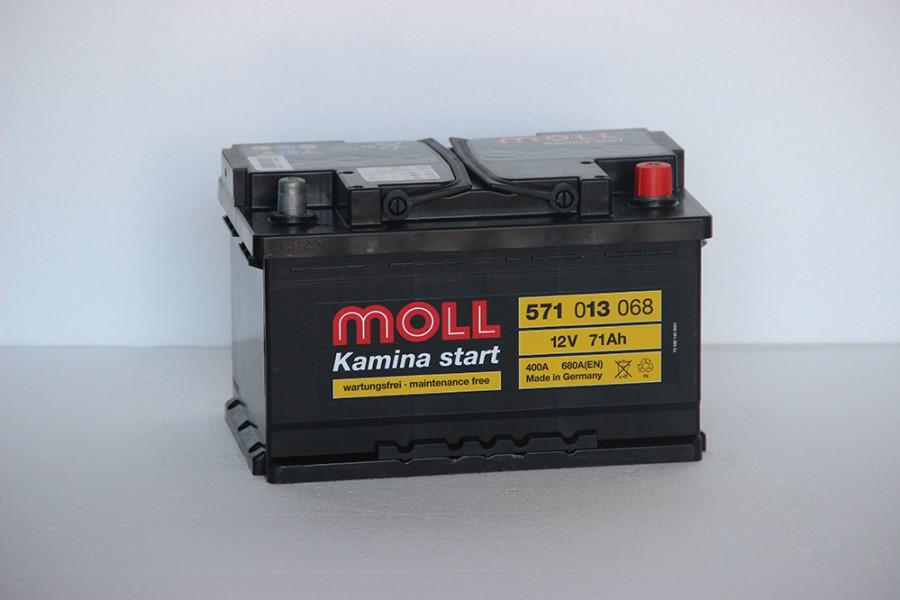 Аккумулятор Moll 71   A/h R 680(EN) ОТ 1-го ПОСТАВЩИКА