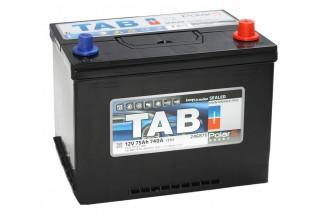 Аккумулятор Tab PolarS 75  A/h Азия R+