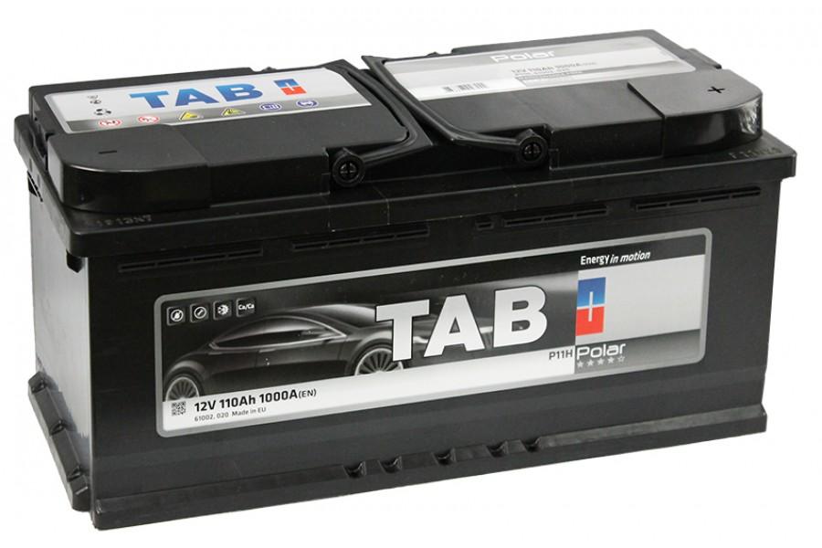 Аккумулятор TAB Polar 110 R 1000A