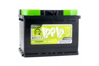 Аккумулятор Topla TOP AGM Stop & Go 60  A/h R 680A