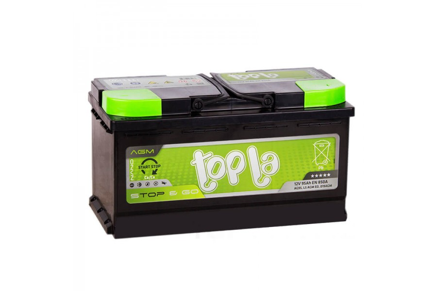 Аккумулятор Topla TOP AGM Stop & Go 95  A/h 850A