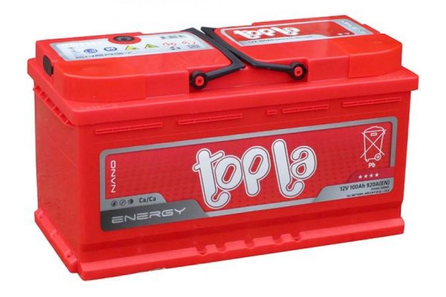 Аккумулятор Topla Energy 100 Ah R 800A короткий
