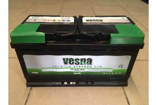 Аккумулятор VESNA AGM 95  A/h R+ 850A (EN)