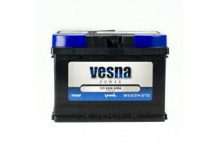 Аккумулятор VESNA Power 60  A/h R+ 600A (EN)