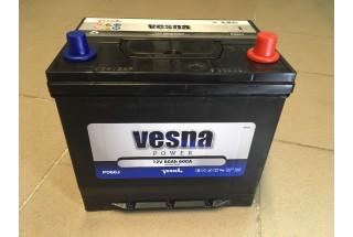 Аккумулятор VESNA AZIA 60  A/h R+ 600A (EN)