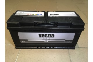 Аккумулятор VESNA BASIC 110  A/h R+ 1000A (EN)