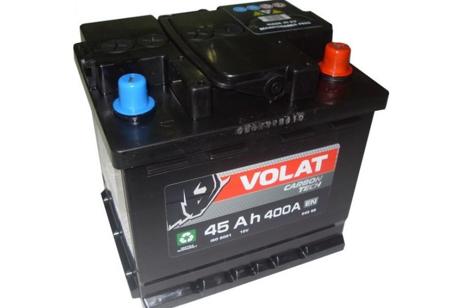 Аккумулятор VOLAT Ultra 45  A/h 400 А