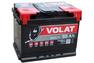 Аккумулятор VOLAT Ultra 55  A/h 530 А