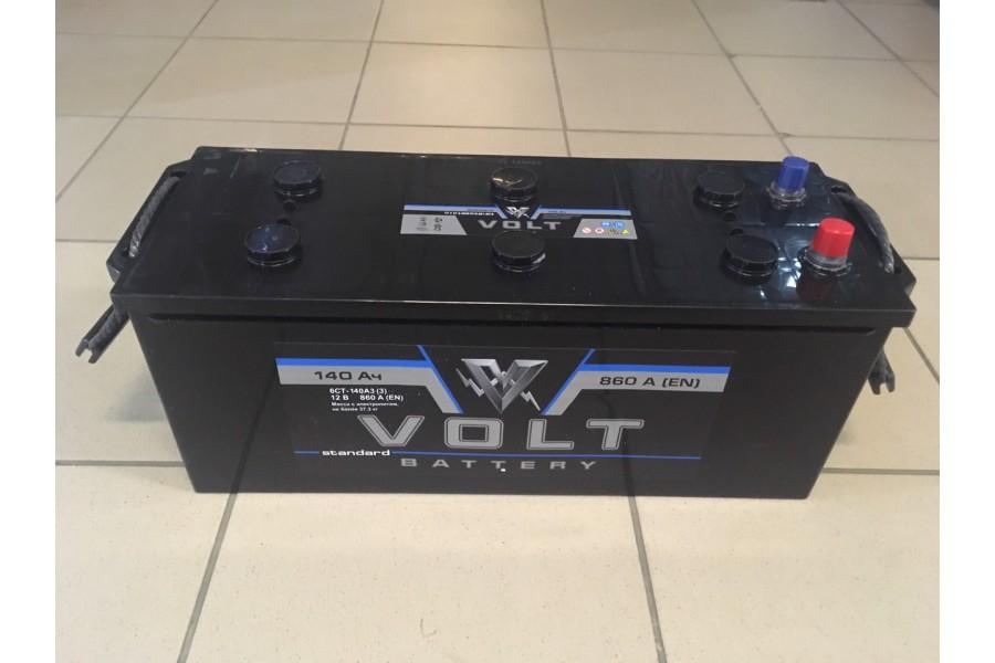 Аккумулятор Volt 140  A/h 860A ОТ 1-го ПОСТАВЩИКА