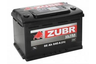 Аккумулятор Zubr Ultra 66  A/h 640А R+