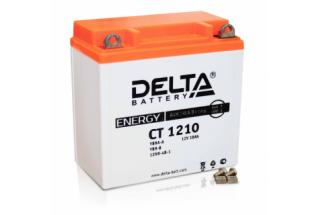 Аккумулятор Delta CT1210 (YB9A-A, YB9-B, 12N9-4B-1)