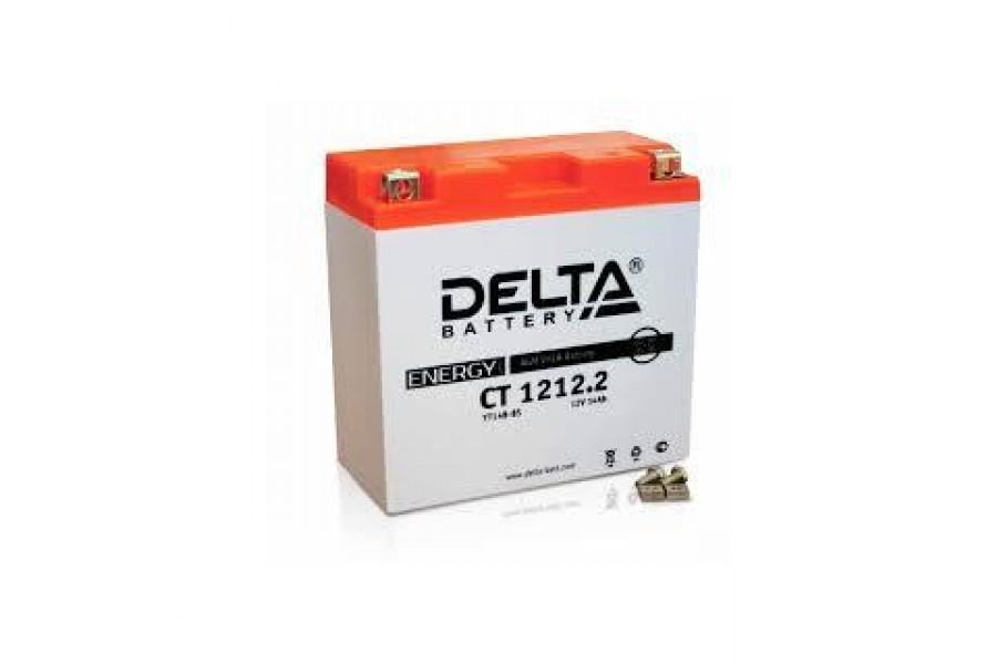 Аккумулятор Delta CT1212.2 (YT14B-BS)