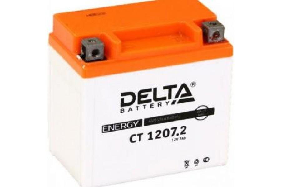 Аккумулятор Delta CT1207.2 (YTZ7S)
