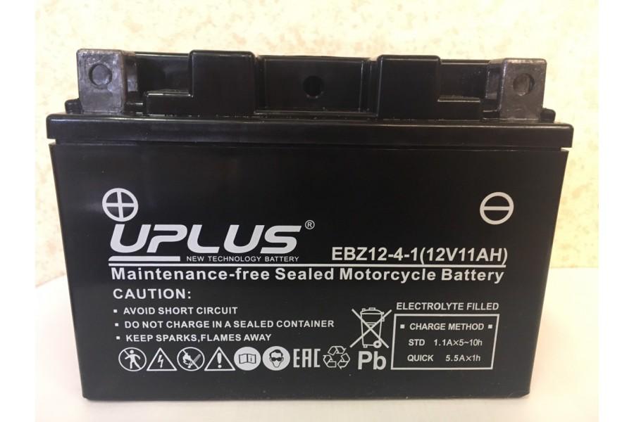 Аккумулятор UPLUS Super Star EBZ12-4-1 (YTZ14S-BS 511902) (12 V 11 Ah L+)