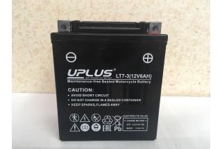 Аккумулятор UPLUS Super Start LT7-3 (YTX 7L- BS 506014) 6  A/h R+
