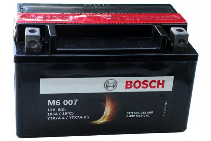 Аккумулятор Bosch YTX7A-BS